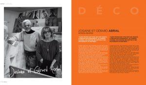 Josiane et Gérard ABRIAL, Deux artistes peintres à Saint Tropez depuis 1974