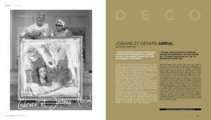 Josiane et Gérard ABRIAL, artistes peintres à St Tropez depuis 1974