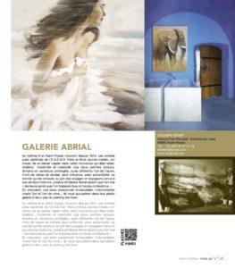 Galerie ABRIAL, depuis 1974 à Saint Tropez