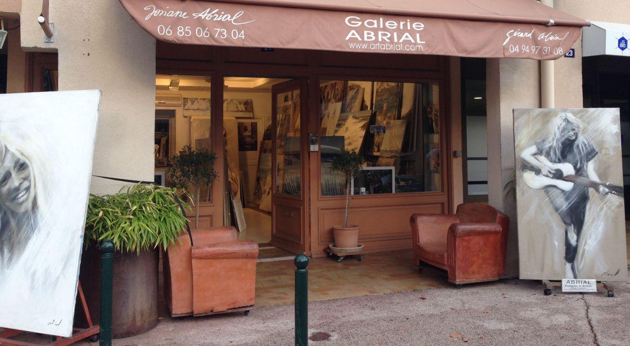 Galerie ABRIAL à Saint Tropez