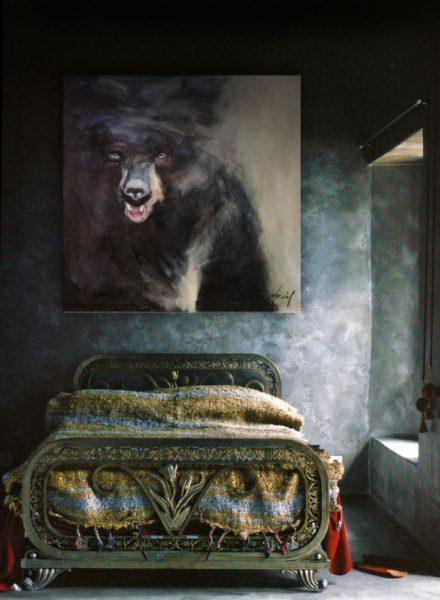 Grizzly en Portrait