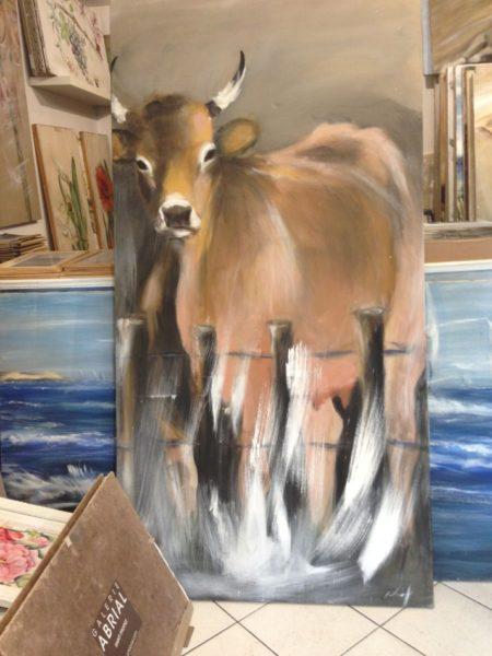 Vache fermière