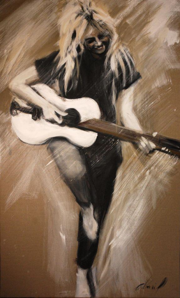 Brigittte Bardot à la guitare