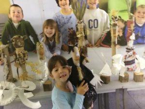 Les enfants aux Beaux Arts à Ramatuelle