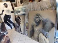 Gorille (vue d'atelier)