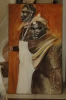 Couple de Massai