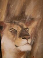 Portrait de Lionne (détail)