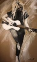 Brigitte Bardot à la Guitare