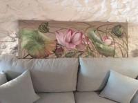 Lotus Rose en Bouton