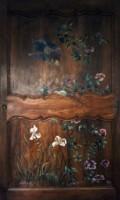 Peinture sur portes d'armoire